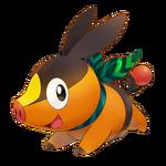 Tepig Pokémon Mundo Megamisterioso