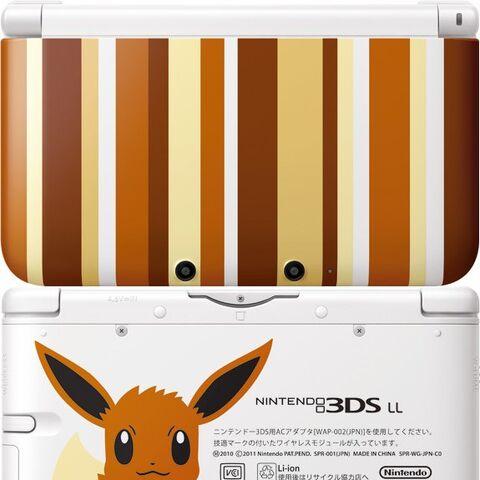 Nintendo 3DS XL de Eevee.
