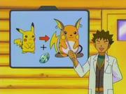 EP287 Evolución Pikachu a Raichu