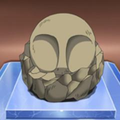 Un fósil domo en el <a href=