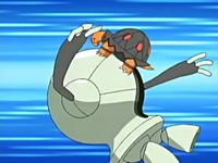 EP463 Torkoal usando golpe cuerpo