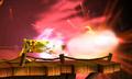 Pikachu usando cabezazo empuje SSB4 3DS