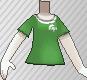 Camiseta de poké ball verde