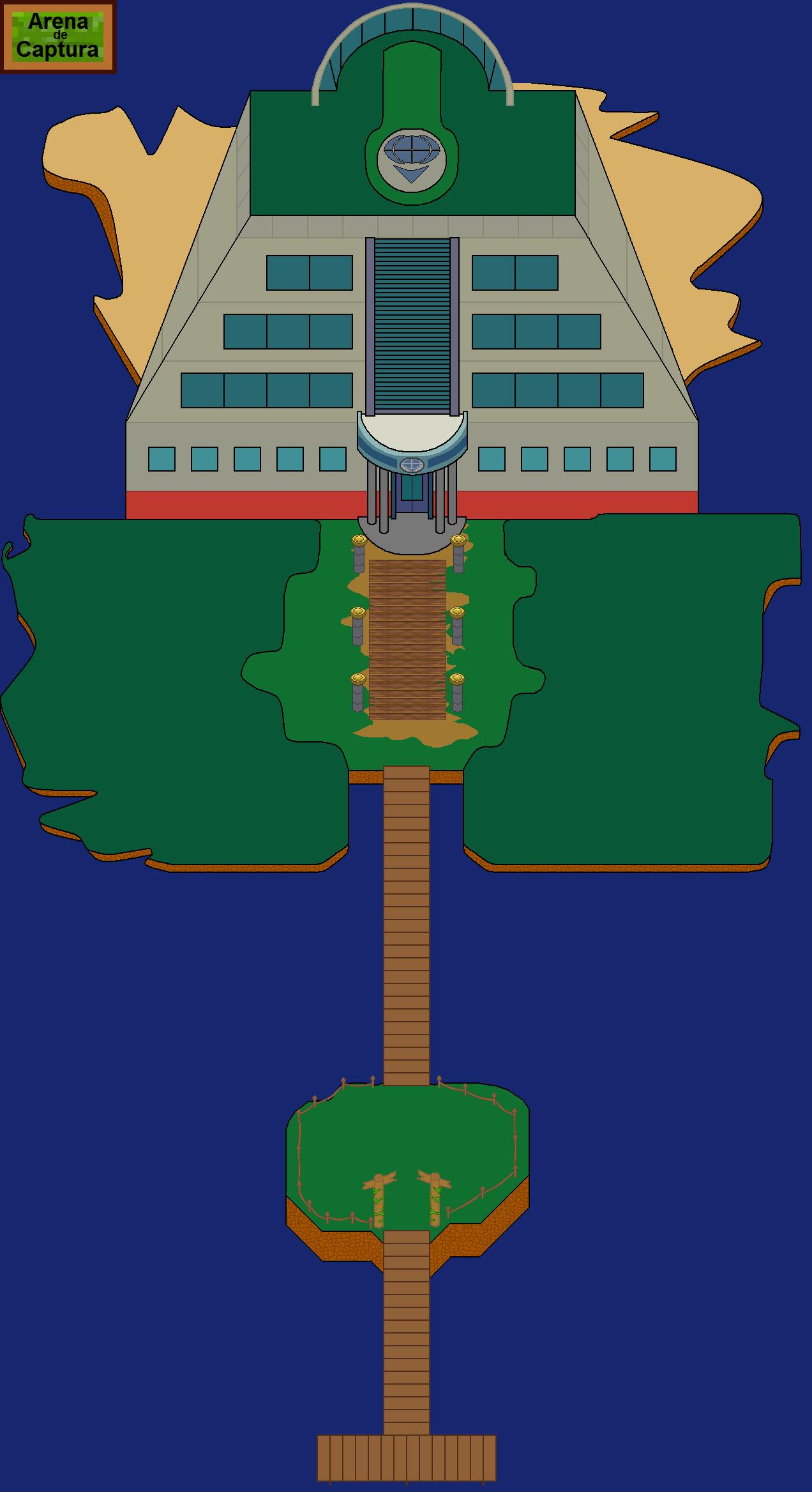 Plano de Arena de Captura