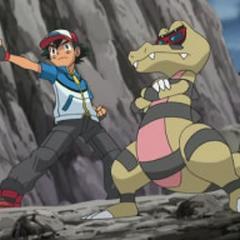 Krokorok junto a Ash.