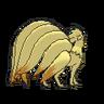 Ninetales espalda G6