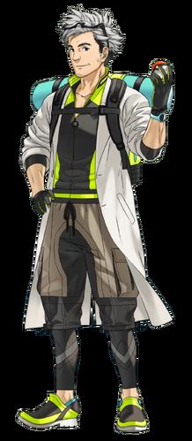 "Profesor Willow en <a href=""/es/wiki/Pok%C3%A9mon_GO"" title=""Pokémon GO"">Pokémon GO</a>"