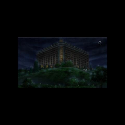 <b>Hotel Desolación</b> en el anime.