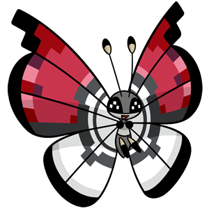 Vivillon Poké Ball (dream world)