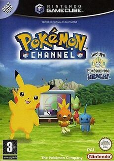 Caratula pokemon channel
