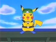 EP216 Pikachu listo para bucear