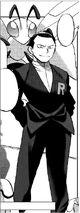 Giovanni en ORAS Manga