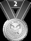 Medalla segundo puesto PD