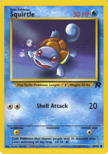Carta de Squirtle