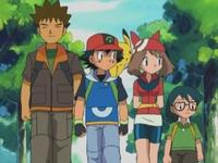 EP289 Ash, Brock, May y Max