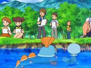 EP558 Retratando a los Pokémon del agua