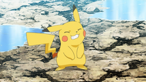 EP841 Pikachu de Ash alterno