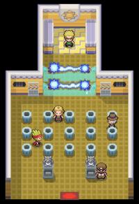Interior del Gimnasio de Carmín en los videojuegos