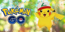 Pikachu con la gorra de Ash(Pokémon Go)