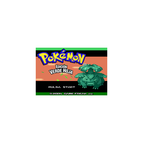 Pokémon Verde Hoja.