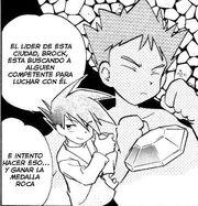 Brock manga