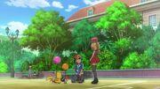 EP809 Serena preguntandole a Ash