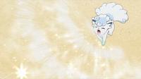 EP965 Shiron usando nieve polvo