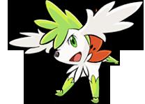 Shaymin cielo Pokémon Ranger 3
