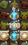 Alineando 3 Pokémon Shuffle