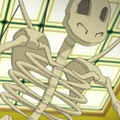 Esqueleto de un Dragonite