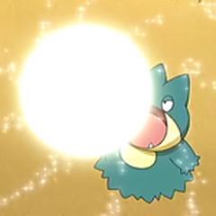 ... Y esta toma forma de esfera un instante antes de dispararse en forma de rayo.