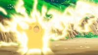 EP663 Pikachu usando Rayo