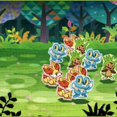 Si tenemos una horda con pocos Pokémon...