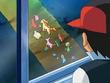 EP479 Ash observando a los Pokémon hipnotizados