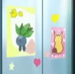 EP981 Poster de Oddish y Pikachu