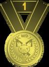 Medalla primer puesto PD