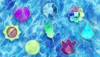 EP1107 ocho medallas de Kanto