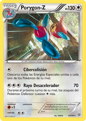 Carta de Porygon-Z
