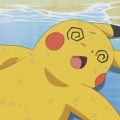 Pikachu debilitado.