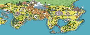 Kanto-Johto map