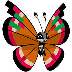Vivillon isleño (dream world)