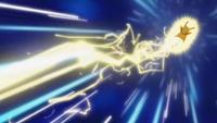 EP664 Pikachu usando rayo