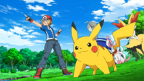 EP918 Pikachu y Serena