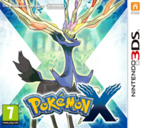 Pokémon X Carátula