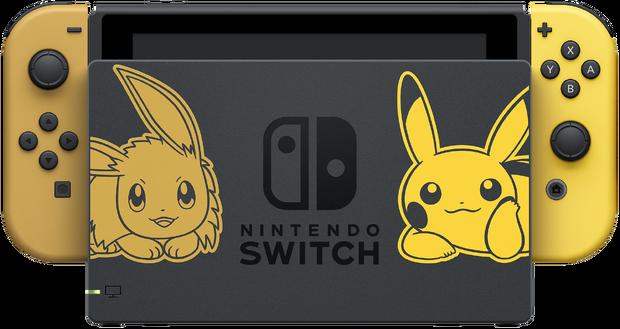 Switch Eevee y Pikachu