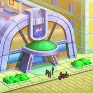 Centro Pokémon de la ciudad.