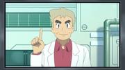 EP981 Profesor Oak en la televisión (cameo)