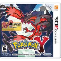 Pokémon Y evento Scizor de tiendas Walmart