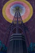 Torre Altru con los tres escudos