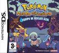 Carátula Pokémon Mundo Misterioso equipo de rescate azul